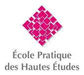 Ecole Pratique des Hautes Études
